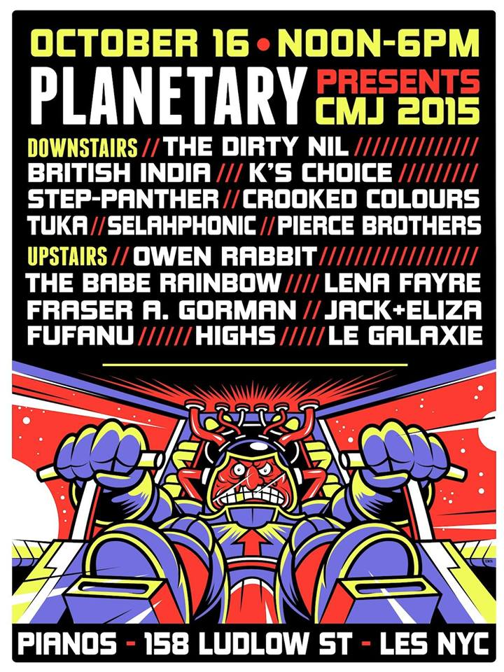 Planetary Presents CMJ 2015